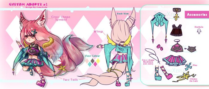 [Custom Design]: Adopts #1 by ZeonXeria