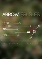 Arrows Brushes by raibowforlife