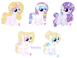 Foals for DuskPonyArtist :CLOSED: by fauna20