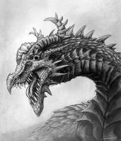 Spiked Dragon by Ruth-Tay