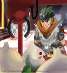 Overwatch: Young Genji at the Arcade by BotanofSpiritWorld