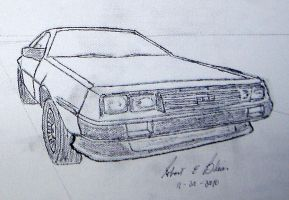 DeLorean Sketch S2P3 by DeloreanREB