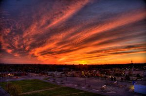 Sunset Ottawa by Infinet