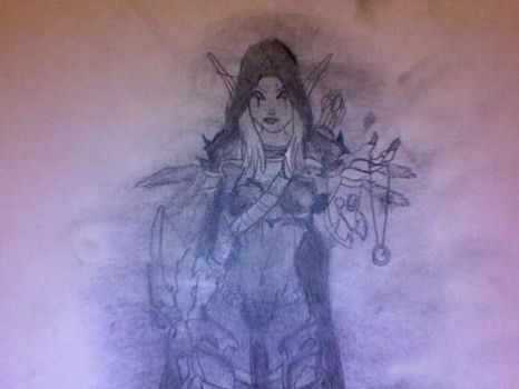 Lady Sylvanas by fyreflyes