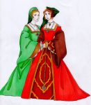 Tudor Fashion col by IslaAntonello