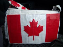 Canadian Duct Tape Purse by InsatiableLykara