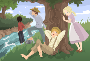 Tom Sawyer by koshami