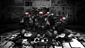 TMNT - Original Mirage Style by FredricLind
