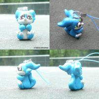 Veemon Charm by ChibiSilverWings