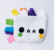 Rainbow Unicorn Pouch by CosmiCosmos