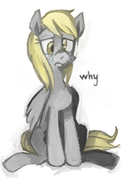 Censored Derpy by young-sinner