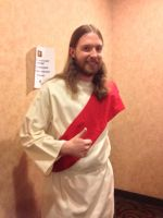Jesus cosplay by dbgtrgr