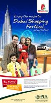 PIA Dubai Shopping Fstvl ad 2 by creavity