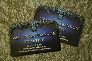 Business cards... by VanLogan