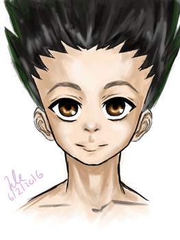 Gon Freecs by TealAztec