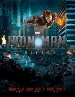 IRON MAN TRILOGY - Poster II by MrSteiners