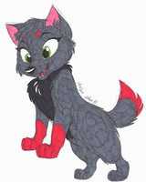 Art Trade-Curious Pokepup by Stray-Sketches