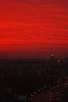Under A Blood Red Sky by Alexandru1988