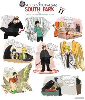 Supernatural{ish} South Park AU prt II by xNoWherex