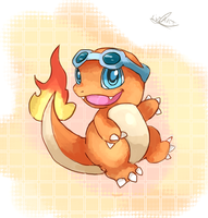 Charmander Present by LizardonEievui13