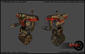 OLD THRESHING CLAWER by CougarJo