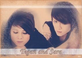 Tegan and Sara by MsNJS
