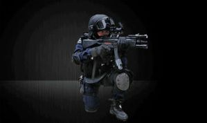 MP5 rapid-fire animation by Stephen-Coelho