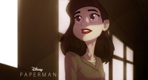 Disney's Paperman. by HughFreeman