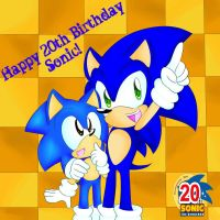 Happy Birthday Sonic by fansonic