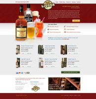 mandliquor site by ijographicz