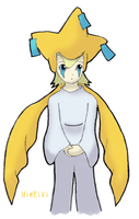 Request: Jirachi Gijinka by MieKiki