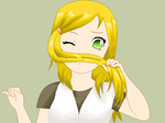 Mustache Hair by Ca14