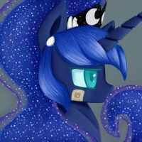 Luna from the future by SttufedEyepatch