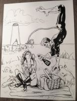 Kitty and Kurt On A Picnic by DeeplyDapper