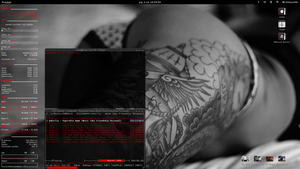 My GNOME Desktop Debian Wheezy rev 0.2 by DebianMir