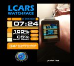 LCARS Watch Face by squirrelfire