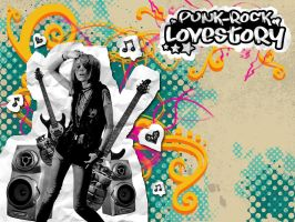 Punk-Rock Lovestory by justhat1girl
