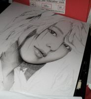 6th Drawing 2012 WIP1 by KLSADAKO