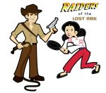 Raiders Retro Toon by JK-Antwon