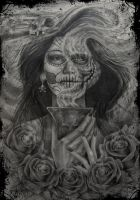 Day of the dead by dmrotten