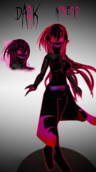 [MMD] Creepypasta OC - Dark Nemesis .::DL::. by Laxianne