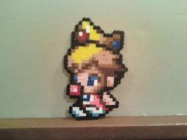 baby peach in perler beads by dylrocks95