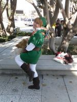Anime Expo 2009-Smexy Link lol by Linkfan007