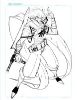 Commish 162 WIP 01 by RobDuenas