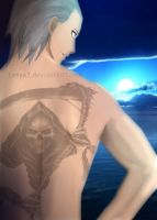 Another Hidan's back xD by Lesya7