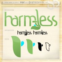 harmless logotype by inde-blokcrew
