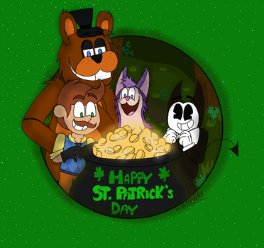 Happy St. Patrick's Day by Wyldstyle101