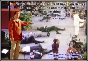 I love a good Sagan quote. by AAtheist