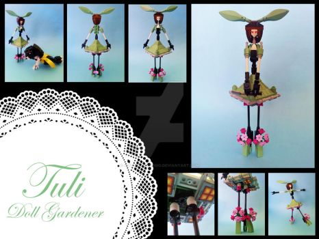 'Tuli' - Doll Gardener by GoldenArpeggio