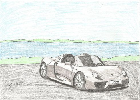 Porsche 918 Spyder by small972
